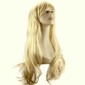 ELEGANT HAIR 20 Ladies Beautiful Full WIG Long Hair Piece FLICK Style Light Blonde #613 275g by Elegant Hair