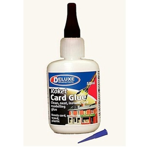 Deluxe Ad57 Roket Card Glue 50Ml by DELUXE MATERIALS