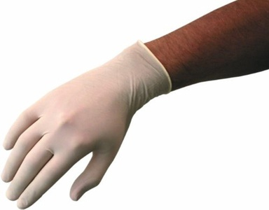 Disposable Powder Free Latex Gloves - Medium - Box 100 by Top Glove