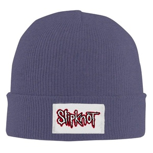 Top Bee Unisex Slipknot Wool Warm Hat Navy