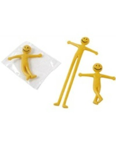 20 x Stretchy Smiley Men Party Bags Fillers by Partyrama by Partyrama