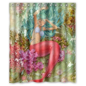DreamOffice-Custom Mermaid Mouse pad Gaming Mouse Mat Cloth Cover Support Wired Wireless or Bluetooth Mouse,9.84