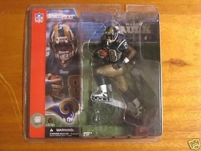 Marshall Faulk St. Louis Rams McFarlane Sportspicks NFL Series 2 by Marshall Faulk