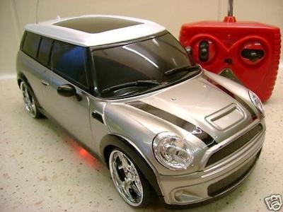 Mini Cooper Remote Control Car Flashing UnderLight (Famous Classic British Car) by remote control car