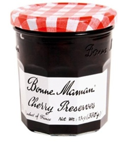 Bonne Maman Preserve, Cherry, 13 Ounce (Pack of 4) by Bonne Maman
