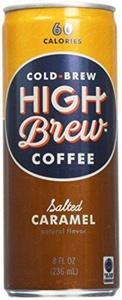 High Brew Coffee Coffee - Salted Caramel - 8 OZ - 12 ct by High Brew Coffee
