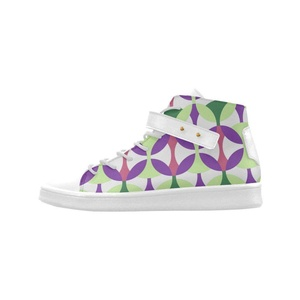 Shoes No.1 Women's Sneakers Lyra Round Toe High-top Shoes Seventies For Outdoor
