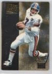 John Elway (Football Card) 1995 Action Packed Monday Night Football - Reverse Angle #7