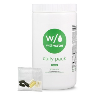 With Water Daily Men's Vitamin & Mineral Packs - 30 Count