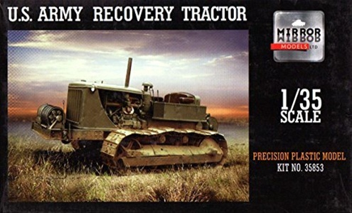 MRM35853 1:35 Mirror Models US Military Recovery Tractor [MODEL BUILDING KIT] by Mirror Models