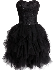 Guqier Dress Ball Gown Sweetheart Cocktail Dresses Lace Up Homecoming Dresses