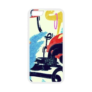 Special Style Art Design Series(for iPhone 6s)(White),Phone Case Back Cover Case[GMCOVER]