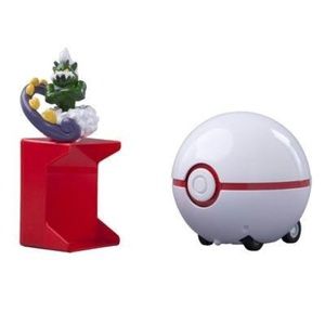 Pokemon Catch & Return Pokeball: Tornadus and Premier Ball by Action Figures