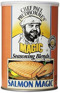 Magic Seasoning Blends Salmon Magic Seasoning Blend, 24-Ounce Canister (Pack of 4) by Magic Seasoning Blends
