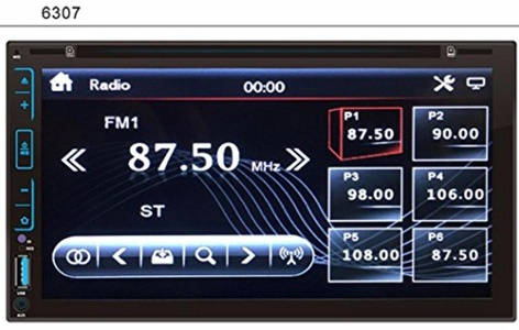 Boddenly 7'' HD 2DIN Bluetooth Touchscreen CD DVD Car Stereo MP3 MP5 Player Receiver AUX FM Radio USB SD