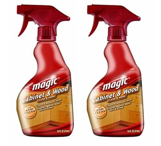 Magic Cabinet and Wood Cleaner, 14 Ounce (2 Pack) by Magic