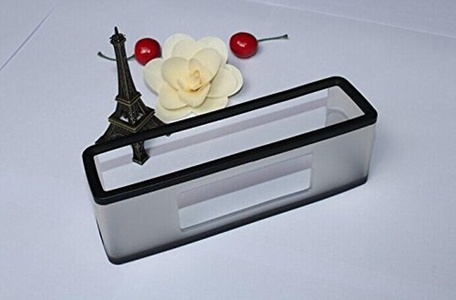 Skin Cover Box Case Soft Cover Fit For Bose Soundlink Mini I and SoundLink Mini II Bluetooth Speaker,Black