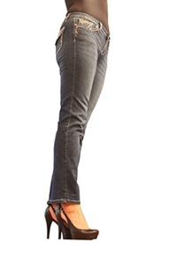 Earl Jean Women Petite Straight leg and Bright Stone pocket Epmp121 (14P)