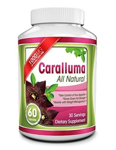 Pure Caralluma Fimbriata Extract - 1000mg Capsules - All Natural Appetite Suppressant & Energy Booster - Helps Reduce Waistline & Burn Fat - Take Charge of Your Health & Enhance Weight Loss Efforts by Aldom Fitness