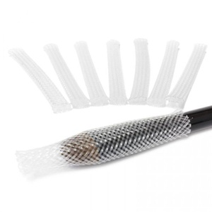 The Brush Guard make up brush protectors size Blush/Small pack by The Brush Guard