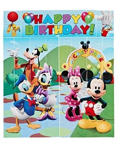 American Greetings 5-Piece Set Mickey Scene Setter, Multicolored by Napkins