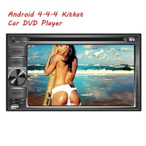 EinCar Quad Core 6.2 inch 2 Din Android 4.4 Kitkat Car Stereo Radio Video Audio HD Multi-touch Screen GPS Navigation Car DVD Player in Dash Autoradio Bluetooth System Supports Wifi