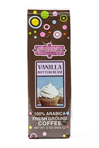 Brew La La Vanilla Buttercream Coffee, 12oz. Bag, 3 Pack by Brew La La Coffee