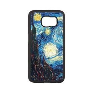 Samsung Galaxy s6 edge plus Case,WXCVBN Rugged Black Van Gogh Painting Print Cover Case Skin for Samsung Galaxy s6 edge plus (5.7 inch)