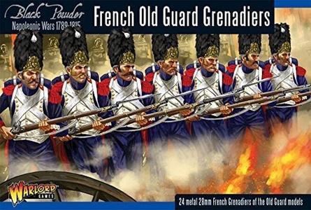 French Old Guard Grenadiers - Black Powder Warlord Games by Black Powder