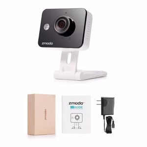 Wireless Mini 720p HD IP WiFi Network Home Security Camera Two-Way Audio
