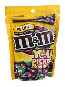 M&M's Peanut 8 OZ (Pack of 24) by M & M's