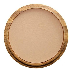 ZAO 303 Compact Powder Brown/Beige/Neutral in a Refillable Bamboo Container Certified Bio / Ecocert / Cosmebio / Natural Cosmetics by Zao Organic Makeup