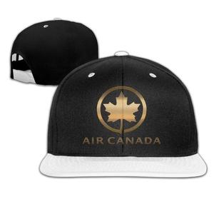 Air Canada AC Logo Adjustable Hip Pop Flat Bill Cap -5 Colors
