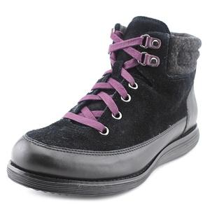 Cole Haan Hiker Grand Boot II Women US 7.5 Black Hiking Boot