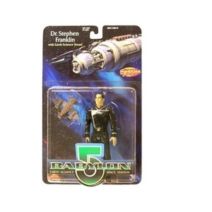 Babylon 5 Dr. Stephen Franklin Action Figure by Exclusive Premier