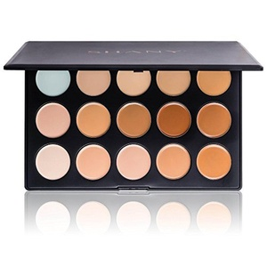 Shany Cosmetics Professional Cream Foundation and Camouflage Concealer 15 Color Palette by SHANY Cosmetics