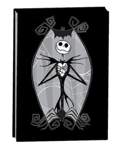 Nightmare Before Christmas Jack Skellington Note Pad Book A7 Black by The Nightmare Before Christmas