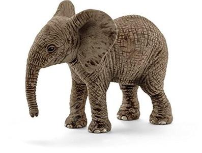 Wild Life Schleich African Elephant Calf Toy by Wildlife