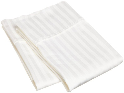 Standard Size White Pillowcases, 300 Thread count, 100% Cotton Pillow cases, Set Of Two