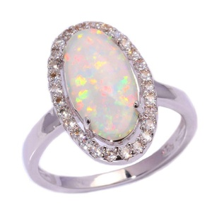 FT-Ring White Fire Opal Jewelry Wedding Ring For Women Engagement Wedding Bridal Rings (9)
