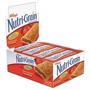 Nutri-Grain Cereal Bars, Strawbrry, Indv Wrapped 1.5oz Bar, 16 Bars/bx by Nutri-Grain