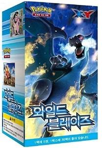 Pokemon Cards XY Wild Blaze Booster Box / Korean Ver / 30 Booster packs by Pokemon Korea