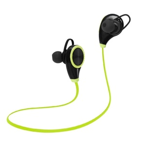 Ikevan Sports Bluetooth Device Sweatproof Wireless Stereo Headsets Headphone (Green)