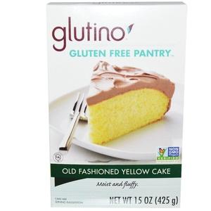 Gluten-Free Pantry, Old Fashioned Yellow Cake, 15 oz (425 g) - 2pc
