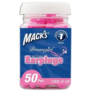 Mack's Ear Care Dreamgirl Soft Foam Earplugs, 50 Count by Mack's Ear Care