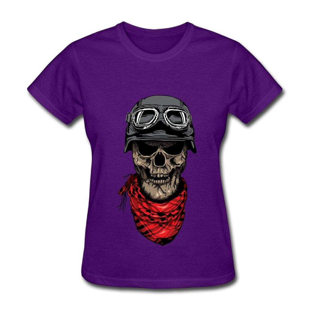 HM Women's T-shirts Dark Rider Size XXL Purple