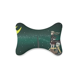 Soul Eater Custom Car-Seat Neck Pillow Travel Pillow Neck Rest Cushion (Only One)