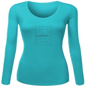 Elameno Printed For Ladies Womens Long Sleeves