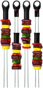 Quirky 14-inch Slide and Serve Skewers, Set of 4 by Quirky