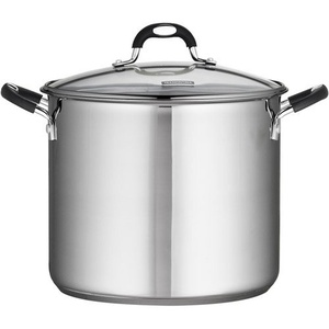 Tramontina 18/10 Stainless Steel 12-Quart Covered Stockpot